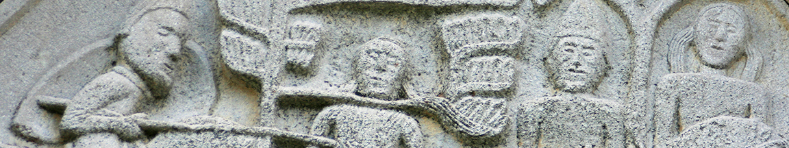 bas-relief of country church in Molise Appennines 1TAGLIO ok